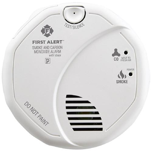First Alert Smoke Detector And Carbon Monoxide Detector Alarm With Built-In 10-Y