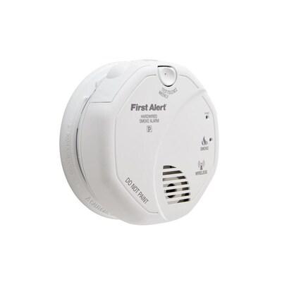 First Alert Wireless Interconnect AC Hardwired 120-Volt