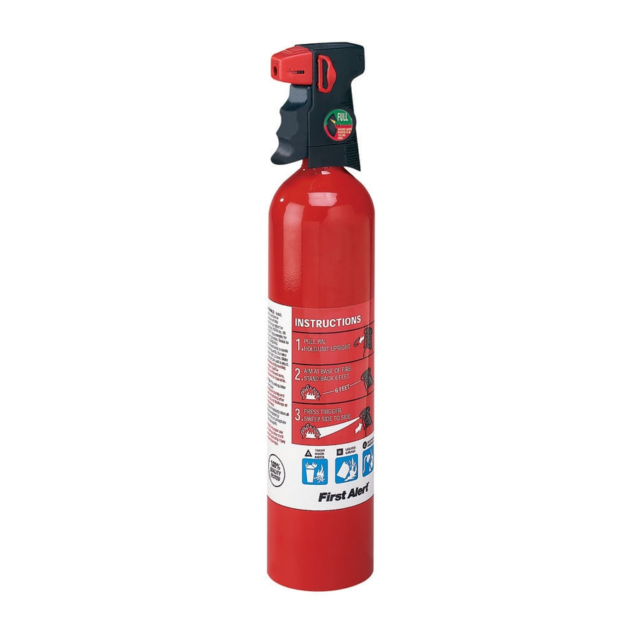 First Alert Multi-Purpose Home Fire Extinguisher with Ergonomic Suregrip Trigger