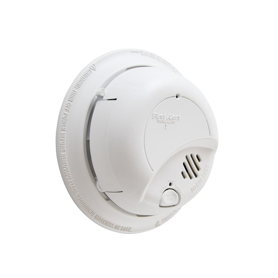 First Alert Ac Hardwired 120 Volt Smoke Detector In The Smoke