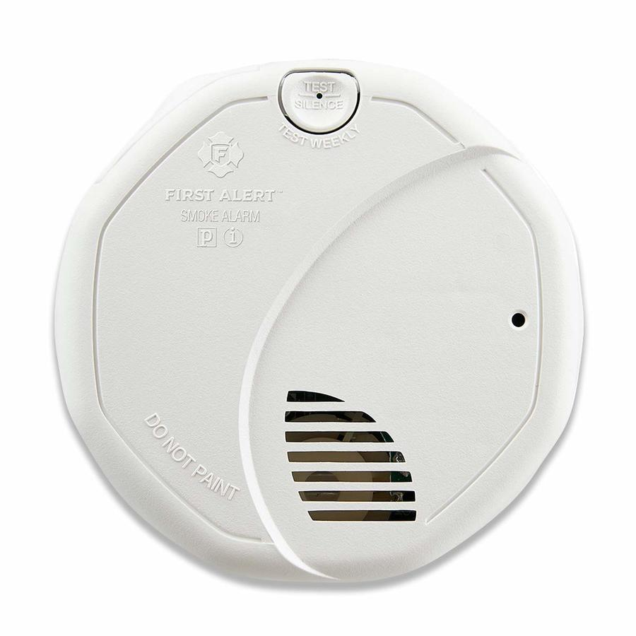 First Alert Ac Hardwired 120-Volt Photoelectric Sensor Smoke Detector
