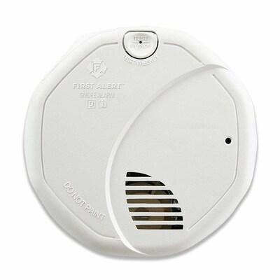 AC Hardwired 120-Volt Photoelectric Sensor Smoke Detector on