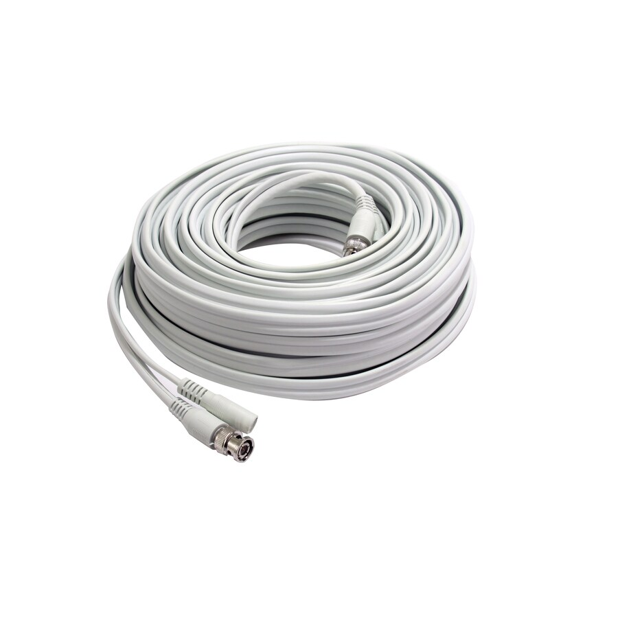 First Alert 100-ft 10-2 Stranded Shielded White Security Cable