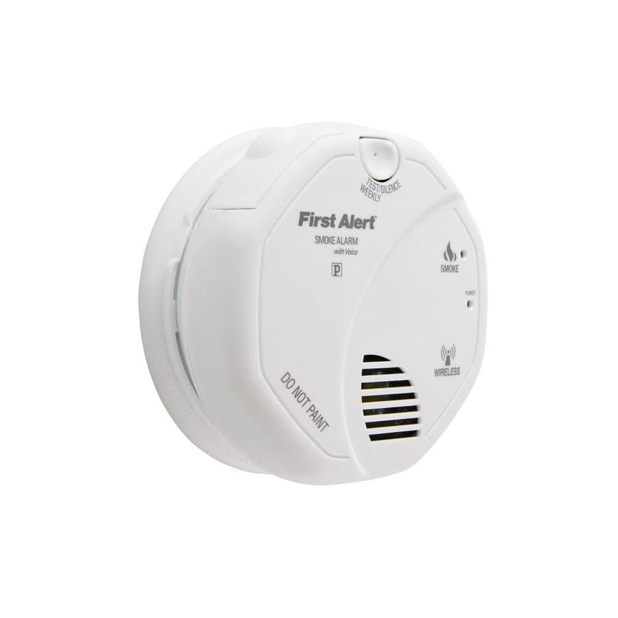First Alert Wireless Interconnect Battery-powered 3-Volt Photoelectric Sensor Smoke Detector