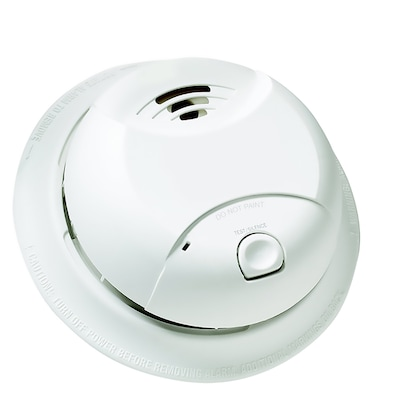 10-Year Battery-Powered 3-Volt Smoke Detector on