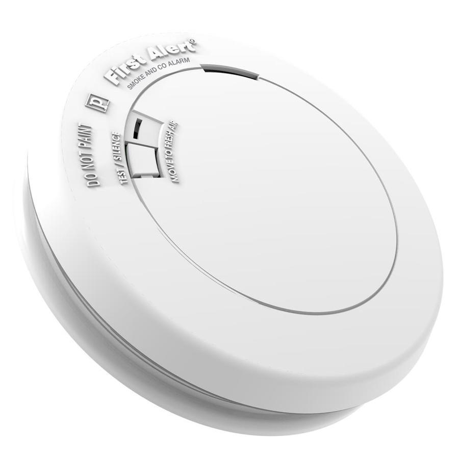 First Alert Smoke /& Fire Alarm Slim Design 2 pack 10 year long-life sealed