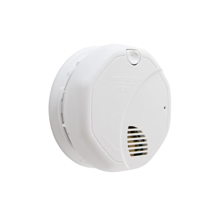 First Alert Battery-Powered 3-Volt Photoelectric Smoke Detector