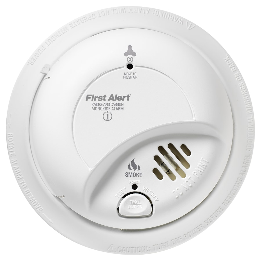 Shop First Alert 10 Year Ac Hardwired Combination Smoke