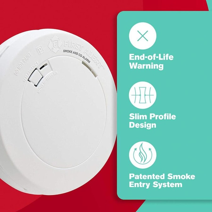 First Alert Battery Operated Combination Smoke And Carbon Monoxide