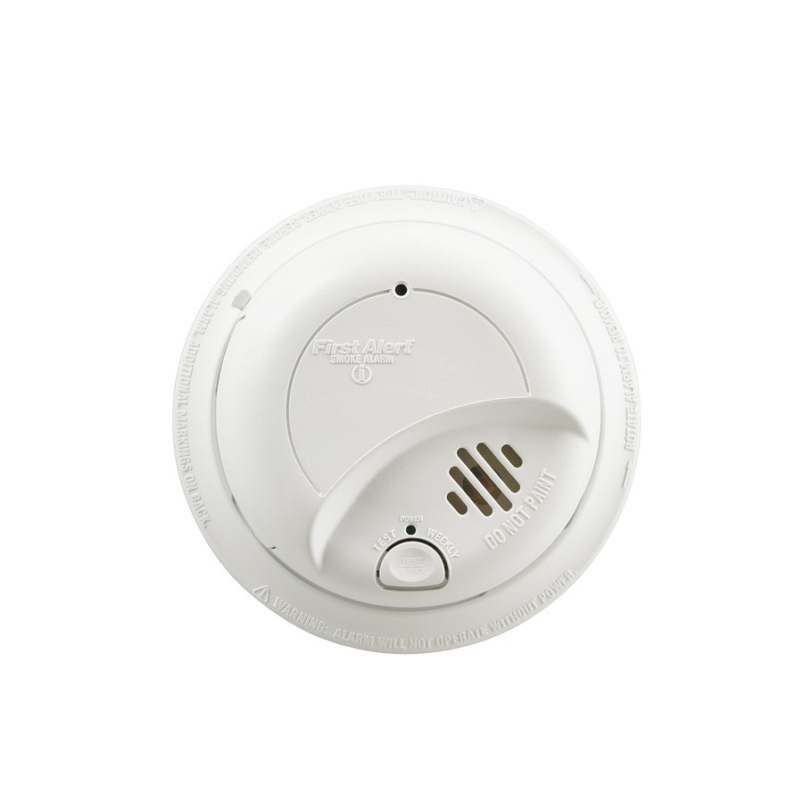 First Alert AC Hardwired Smoke with 10-Year Battery Backup at Lowes com