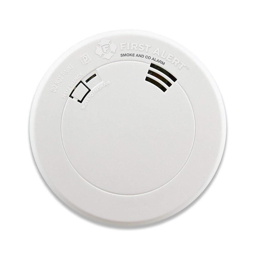 b0f2429c196e First Alert 10-Year Battery Combination Photoelectric Smoke and Carbon  Monoxide Alarm with Voice and Location