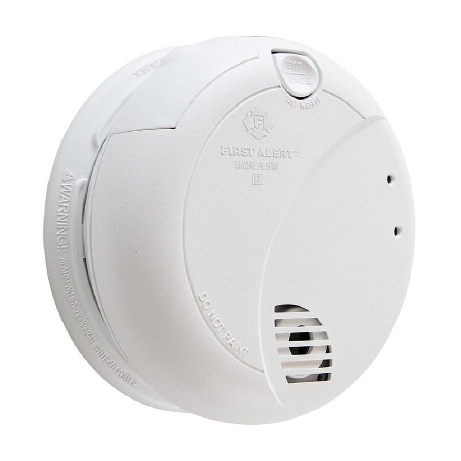 First Alert 7010lbl Ac Hardwired 120 Volt Photoelectric Sensor