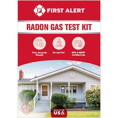 First Alert Home Radon Gas Test Kit at Lowes com
