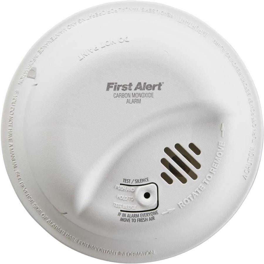First Alert AC Hardwired Carbon Monoxide Detector Battery Back-Up
