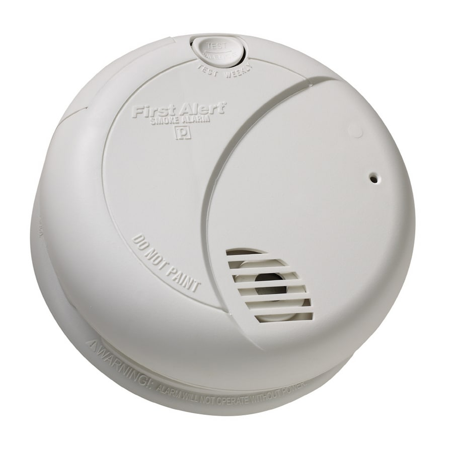 First Alert Battery-Powered 9-Volt Photoelectric Smoke Detector