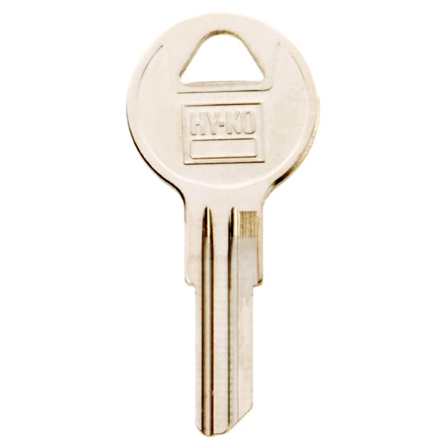 Hy-Ko Products Brass Padlock Key Blank