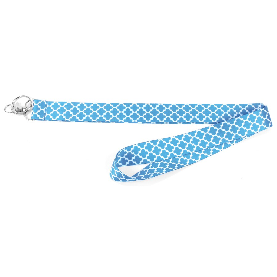 Hy-Ko Products Assorted Blue Lanyards