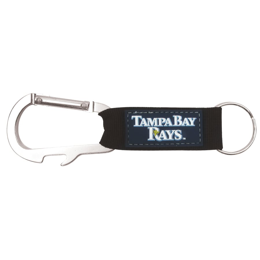 Hy-Ko Products MLB Tampa Bay Rays Carabiner Bottle Opener