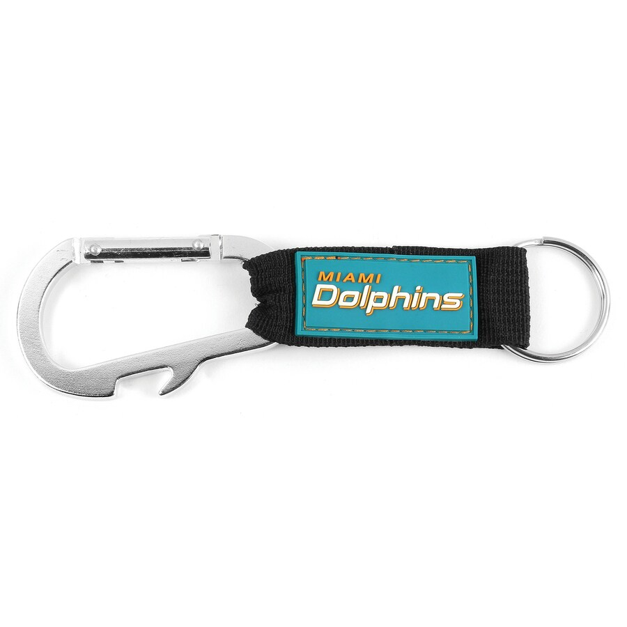 Hy-Ko Products NFL Miami Dolphins Carabiner Bottle Opener