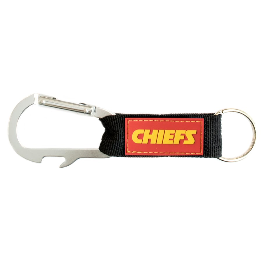 Hy-Ko Products NFL Kansas City Chiefs Carabiner Bottle Opener