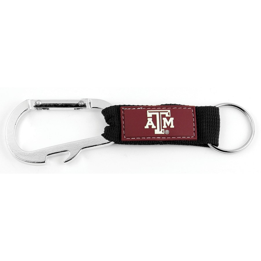 Hy-Ko Products NCAA Texas A&M Aggies Carabiner Bottle Opener