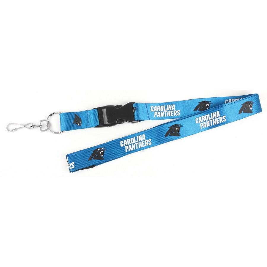 Hy-Ko Products NFL Carolina Panthers Lanyard
