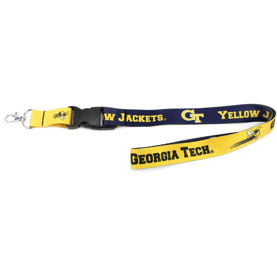 Hy-Ko Products NCAA Georgia Tech Yellow Jacket Lanyard