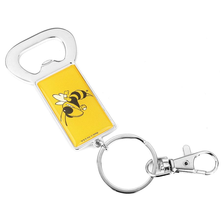 Hy-Ko Products NCAA Georgia Tech Yellow Jacket Carabiner Bottle Opener