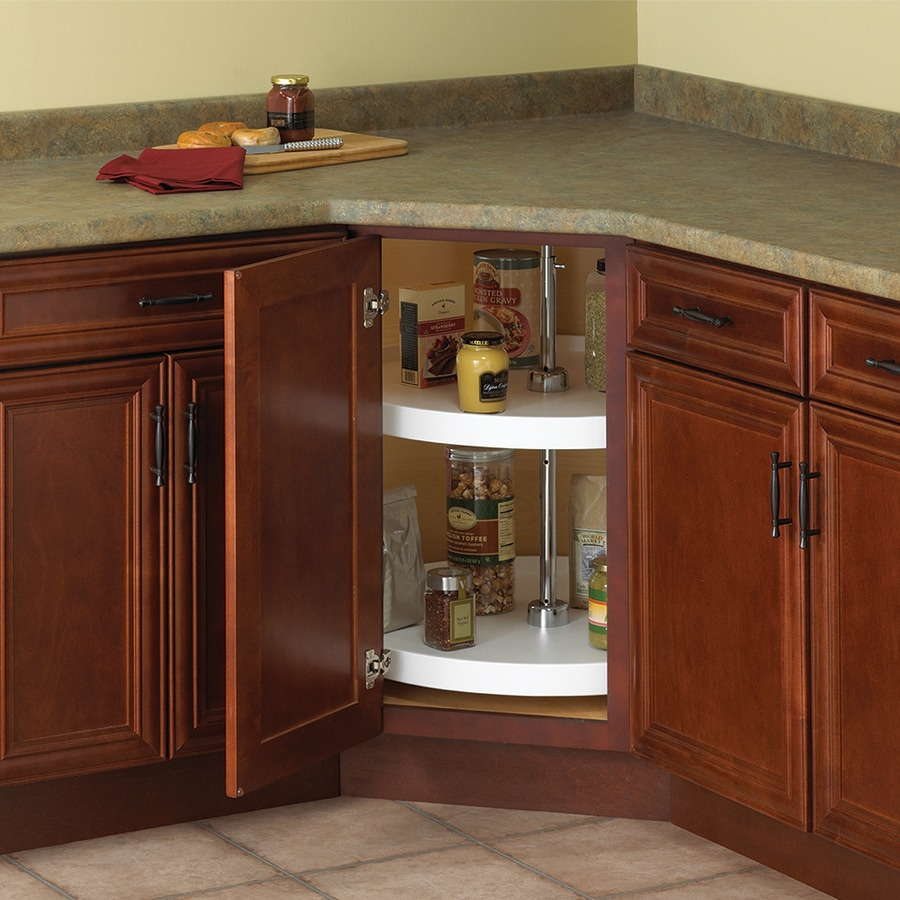 Knape Vogt 2 Tier Plastic Full Circle Cabinet Lazy Susan In The Lazy Susans Department At Lowes Com