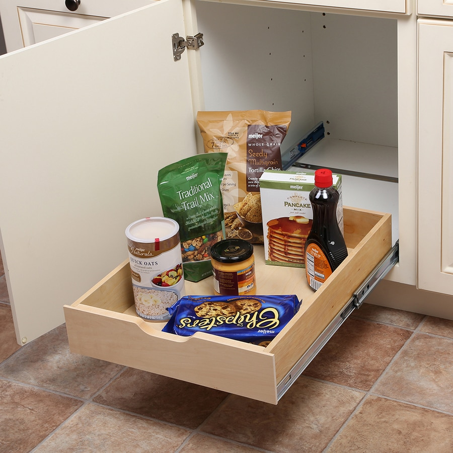 Kitchen Cabinet Pull Out Organizers shop cabinet organizers at lowes