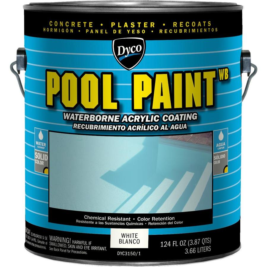 Dyco Paints Specialty White Semi-Gloss Acrylic Enamel Exterior Paint (Actual Net Contents: 124-fl oz)