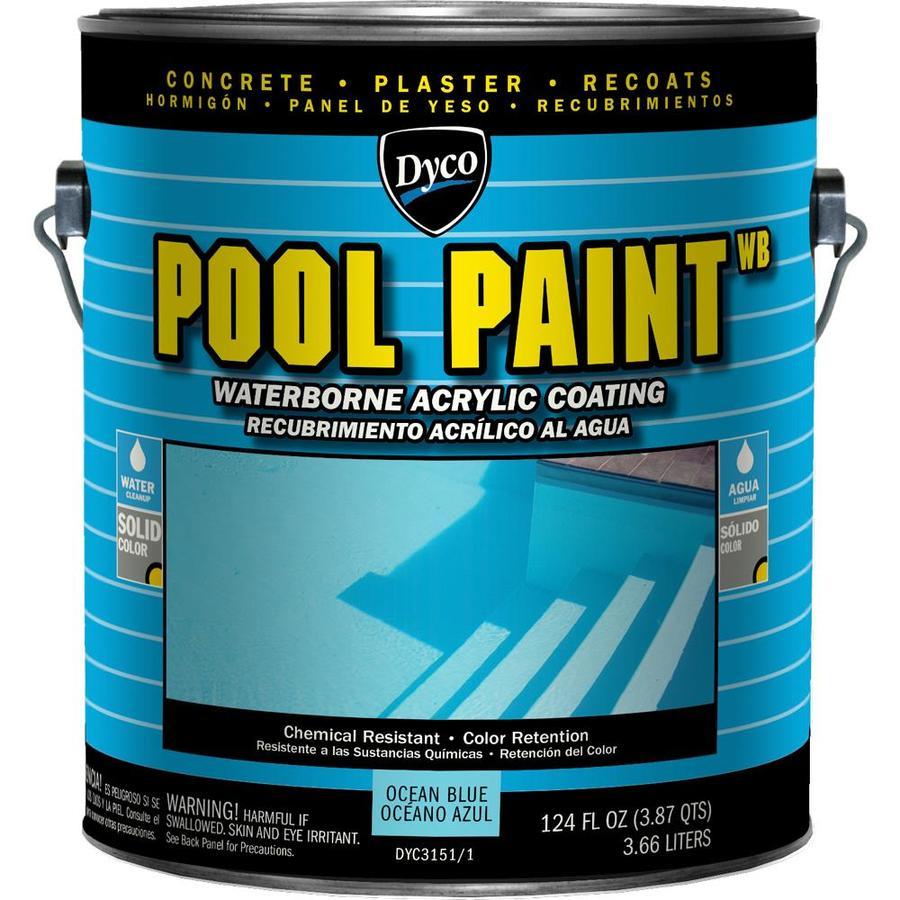 Dyco Paints Specialty Ocean Blue Semi-Gloss Acrylic Enamel Exterior Paint (Actual Net Contents: 124-fl oz)
