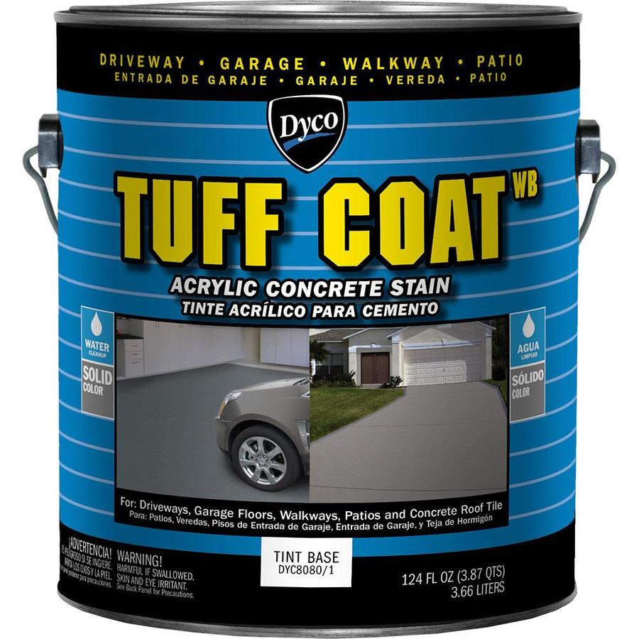 Dyco Paints Tuff Coat Tintable Tint Base Solid Concrete Stain 124-fl oz)