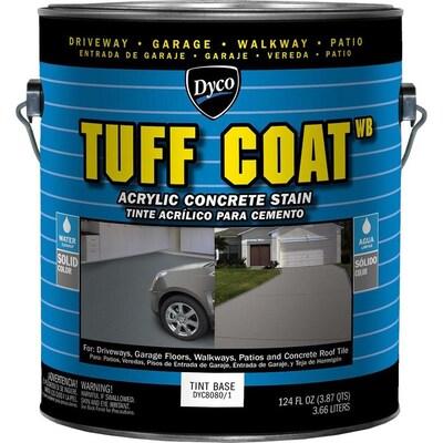 Dyco Paints Tuff Coat Tintable Tint Base Solid Concrete Stain (Gallon)