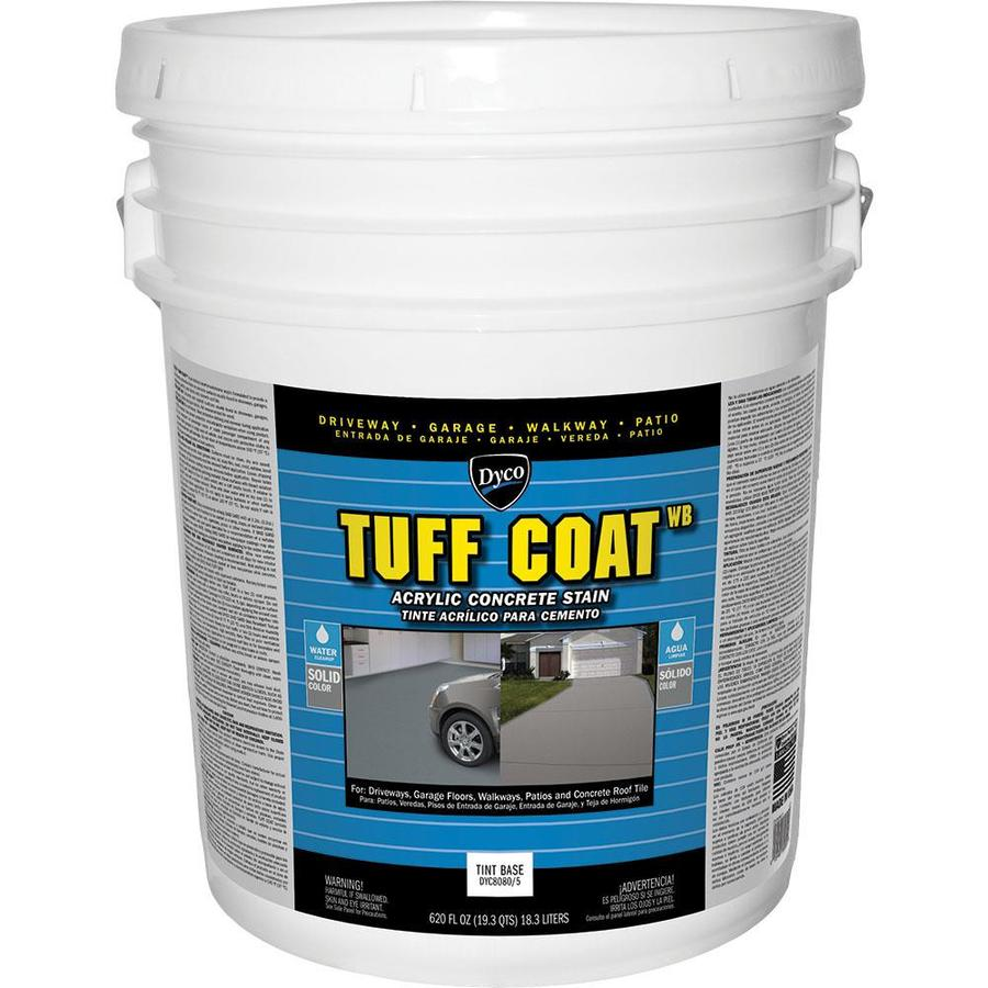 Dyco Paints Tuff Coat Tintable Tint Base Solid Concrete Stain 620-fl oz)