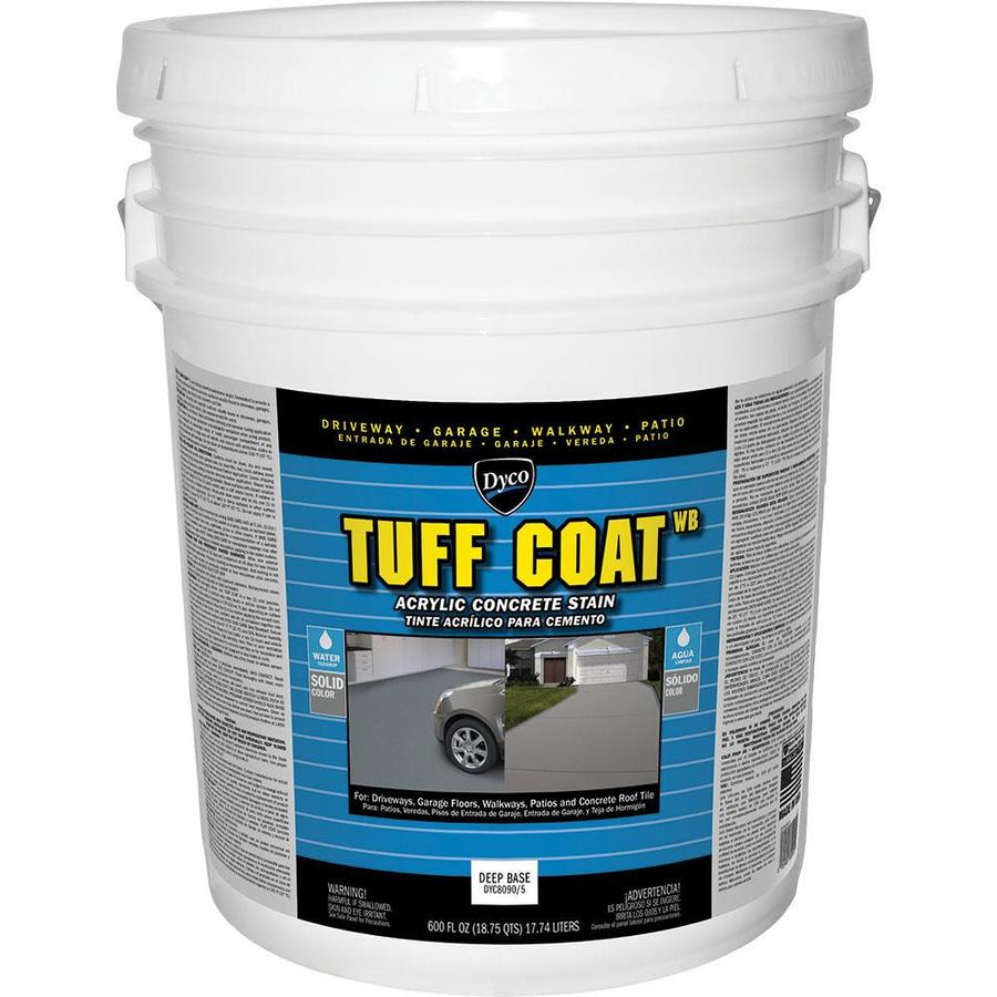 Dyco Paints Tuff Coat Tintable Deep Base Solid Concrete Stain 600-fl oz)