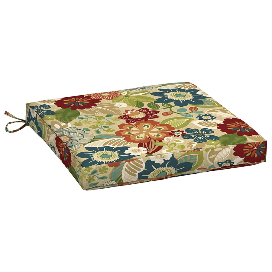 Garden Treasures Bloomery Floral Seat Pad For Universal