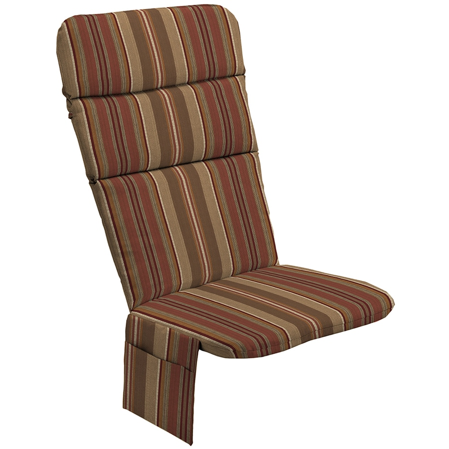allen + roth Chili Stripe Cushion For Adirondack Chair