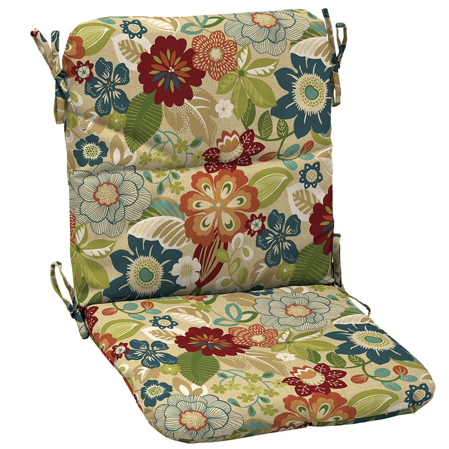 Shop Garden Treasures Bloomery Floral Cushion For