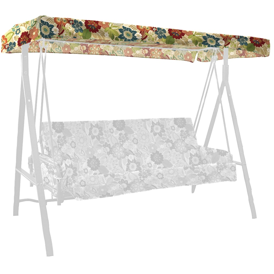 Garden Treasures Bloomery Porch Swing Canopy