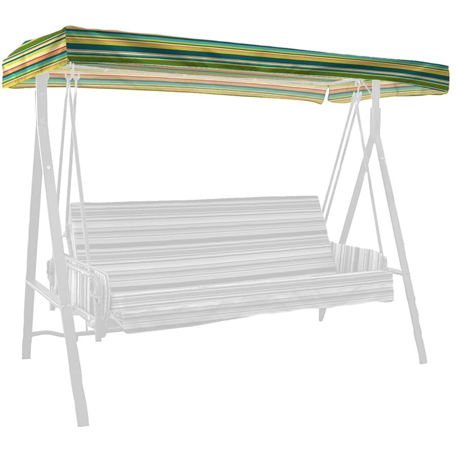 Garden Treasures Bloomery Stripe Porch Swing Canopy