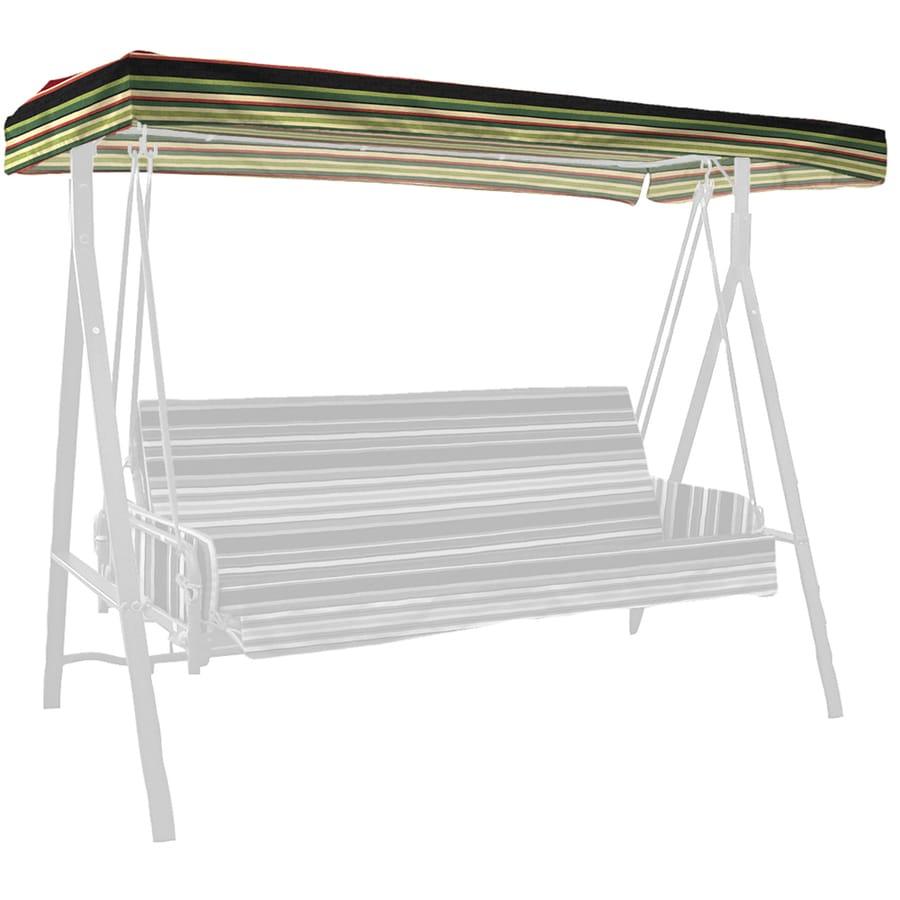 Garden Treasures Sanibel Stripe Porch Swing Canopy