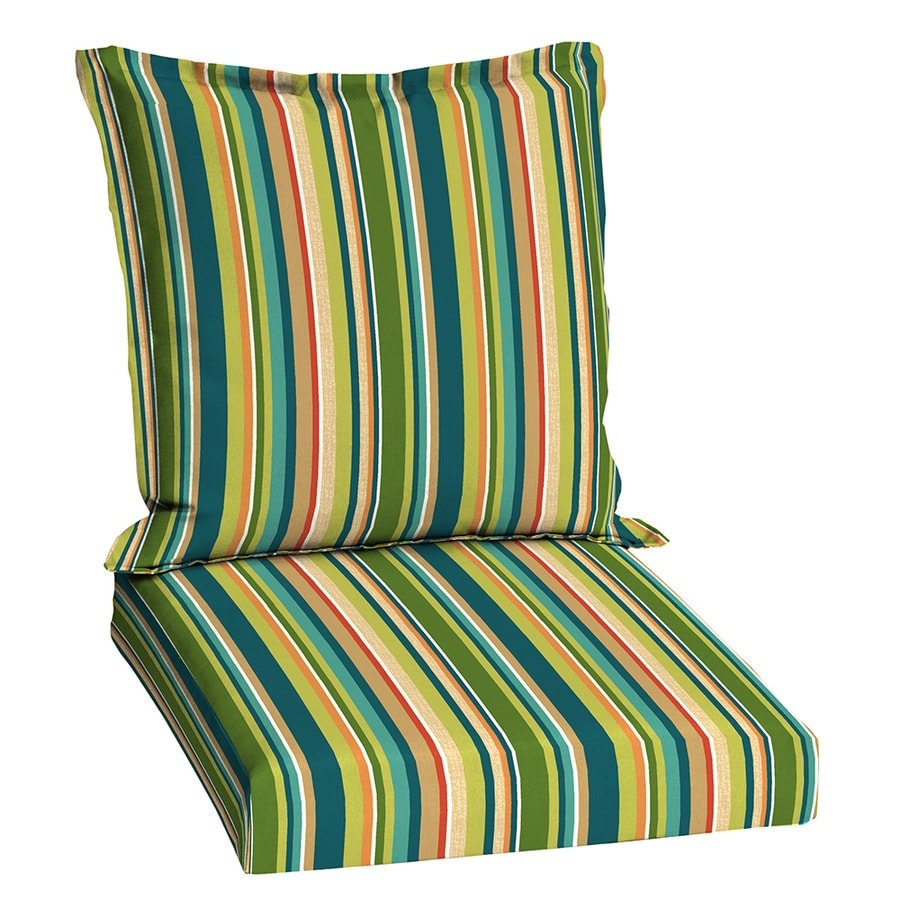 Garden Treasures Bloomery Stripe Cushion
