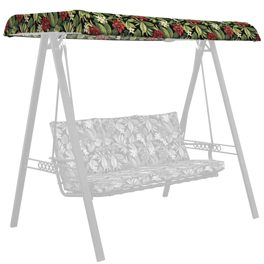 Garden Treasures Sanibel Tropical Porch Swing Canopy
