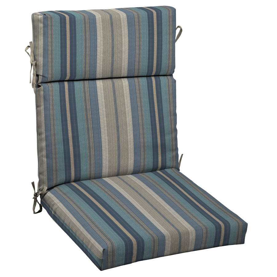 Allen + Roth Stripe Standard Patio Chair Cushion Part 44