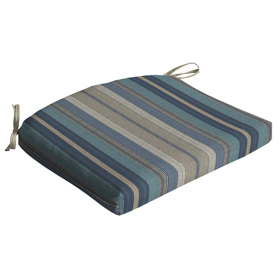 allen + roth Blue Stripe Seat Pad For Universal