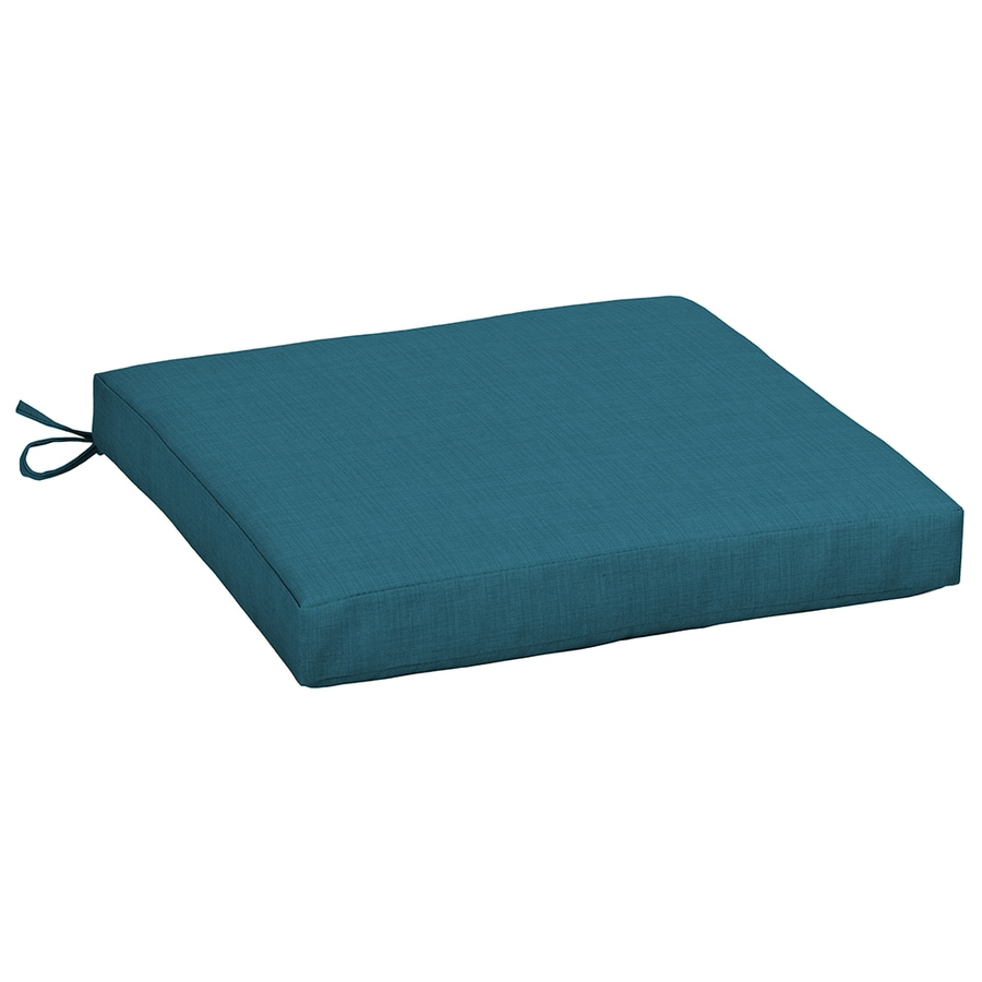 Garden Treasures Blue Flame Solid Blue Flame Solid Solid Seat Pad For Universal