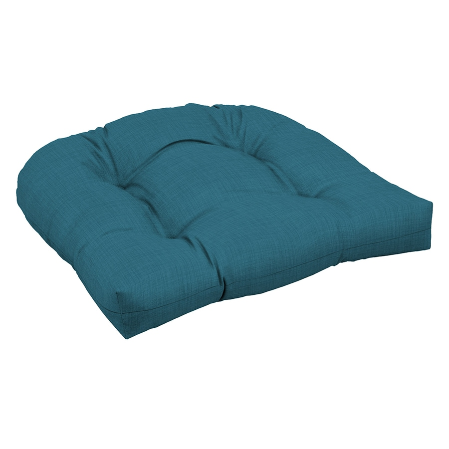 Garden Treasures Blue Flame Solid Blue Flame Solid Solid Cushion For Universal