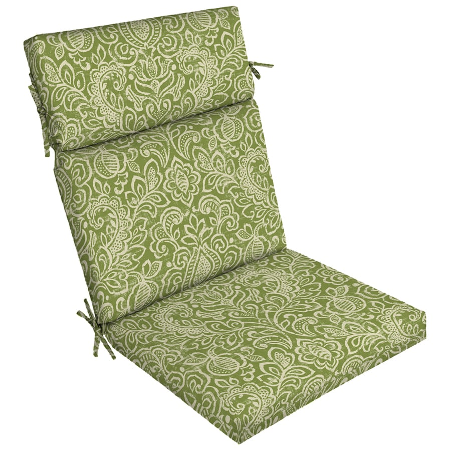 Garden treasures 1 piece standard patio chair cushion at - Garden treasures replacement cushions ...