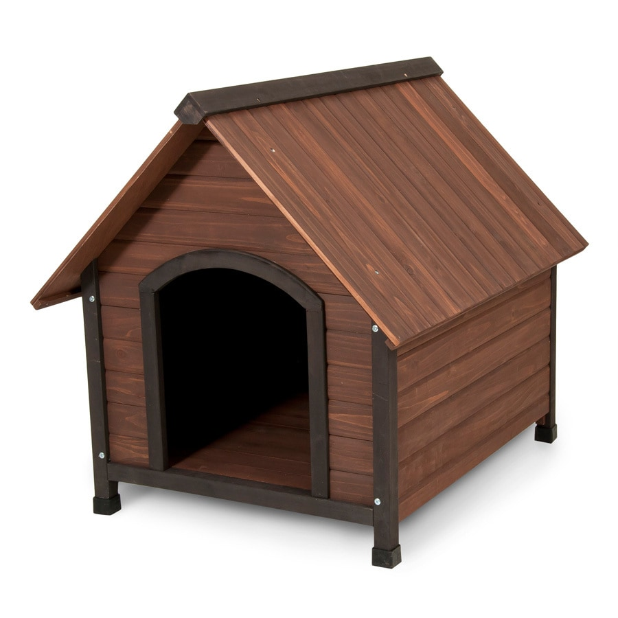 Aspen Pet 2.86-ft x 2.65-ft x 3.21-ft Cedar Dog House